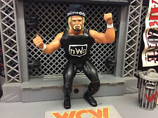 "Custom Hollywood Hulk Hogan NWO WCW WWF WWE LJN 8"" Figure hand painted"