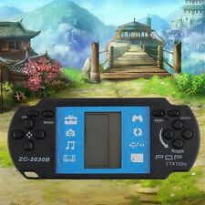 Kids Children Handheld Game Console Portable Video Tetris For PSP Gaming F7