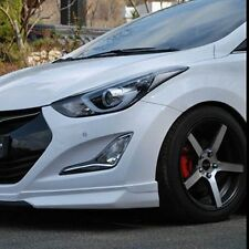 Body kits Front+Rear Lip+Side skirts Unpainted For Hyundai NEW Elantra 2014~2015