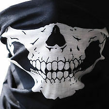 New Black Scarf Balaclava Skull Hood Warm Ski Motorcycle Biker Mask Snood Neck
