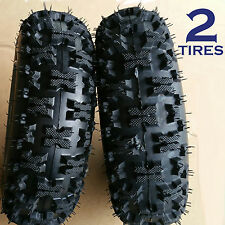 TWO 4.80-8 Snow Blower thrower TIRE Americana 4.80/4.00-8 A398 Snow Pro NHS
