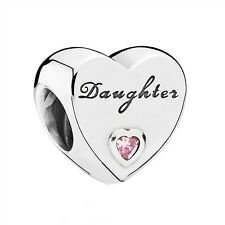 Pandora Daughter's Love, Daughter Charm, Bracelet Bead, Brand New, #791726PCZ