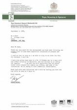 Toye, Kenning & Spencer Ltd. Uniform accoutrements  1982 1994 letters    zi41