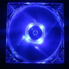 14CM 140mm Blue Light LED Silent PC Computer Case Cooler Cooling Fan Mod IB