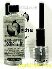 Seche Vite Dry Fast Top Coat Refill Kit 4fl.oz & Free Seche 0.5fl.Oz Shine Nail