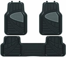 SUZUKI GRAND VITARA HEAVY DUTY UNIVERSAL RUBBER FLOOR MATS 3 PIECE