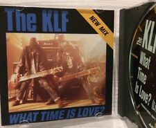 The Klf - What Time Is Love Cd Promo 1991 Rare Find / Live At Trancentral