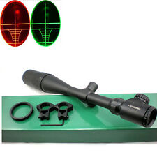 8-32x50 AOEG Rifle Scope W/ Rings & Sunshade AR Gunsight