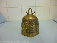 Antique  Chinese Bronze Dragon Buddhism Temple Bell