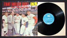 1959 That Holler Guy! Joe Garagiola LP Record with Jacket Mickey Mantle Musial