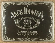 Jack Daniel's Belt Buckle-Old No. 7-Tennesse Whiskey-Made in USA-2005-Black
