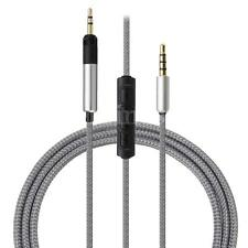 Cable with Remote & Mic for iphone to Technica ATH-M50x ATH-M40x Headphone