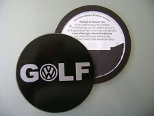 Magnetic Tax disc holder fits any volkswagen golf rabbit mk1 mk2 mk3 mk4 mk5