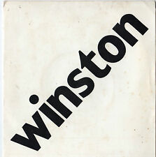 "Winston - It's Christmas Time Again 7"" Single 1977"