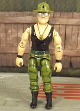 GI Joe Sgt Slaughter v2 drill instructor 1986 action figure 3.75 inch ARAH