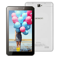 "4G LTE Phone Call Tablet PC Aoson 7"" S7 Pro Android 6.0 Dual Camer 8GB Bluetooth"