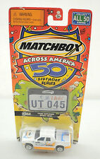 "2001 Matchbox Across America 50 Birthday Series ""Utah Ford Explorer Sport Trac"""