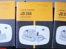 #bb VINTAGE JOHN DEERE 350 CRAWLER OPERATORS MANUAL  T27996
