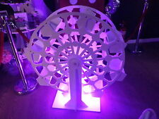 CANDY CART FERRIS WHEEL WITH ILLUMINATED BASE 115cm tall