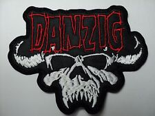 DANZIG  RED    LOGO  EMBROIDERED PATCH