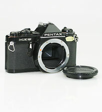 PENTAX ME SUPER 35mm SLR Film Camera Body in Black c.1980-86 (FZ104)