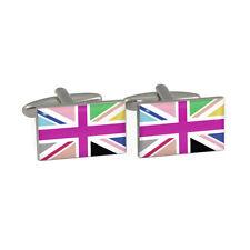 Multi Union Jack Gemelos Con Bandera Británica GB English Gran Británicoas