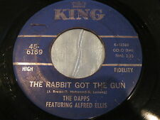 Hear Rare Funk Soul 45:The Dapps on King - The Rabbit Got The Gun