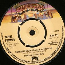 """DONNA SUMMER deep down inside/JOHN BARRY theme from the deep CAN111 7"""" WS EX/"""