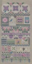 JUST NAN MOTIF MYSTIQUE SAMPLER CROSS STITCH CHART AND EMBELLISHMENTS PACK