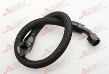 "48""10AN Nylon Braided Racing Performance Oil Fuel Coolant Line Hose Assembly"
