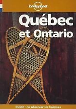 Lonely Planet Quebec Et Ontario (Travel Guides French Edition)
