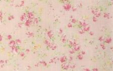 Cottage Shabby Chic Quilt Gate RURU Bouquet Rose Spray Fabric RU2200Y-17B BTY