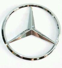 Mercedes Benz rear boot emblem badge 3 pins 90mm, C ML  E SLK S CLK CL  Vito