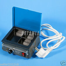 UPS to USA! Dental Lab Equipment 3-Well Analog Wax Heater Melting Dipping Pot