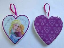 Two Sisters One Hearts, Frozen decoupage Heart Tree Decoration NEW  25091