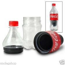 Small Soft Drink Stash Safe Bottle - Hide Valuables