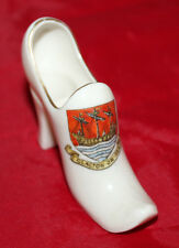 Gemma Crested China - Miniature twin handled shoe/boot - Clacton-on-Sea - vgc