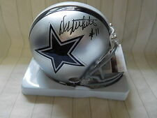 Danny White signed Cowboys mini helmet, JSA, #11