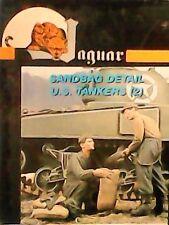 Jaguar 1/35 - Carristi americani che riempiono dei sacchi di sabbia (1942-1945)