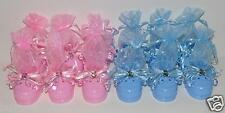 12 pc lot BABY SHOWER FAVORS GIFTS PARTY FAVORS SHOES BOTTIES W/PACIFIERS BEARS