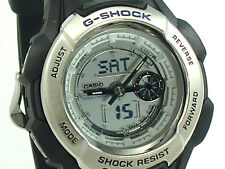 CASIO G-SHOCK CHRONOGRAPH MENS WATCH G610-7 BLACK RESIN BAND