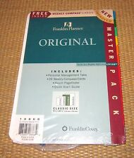 Classic Size | *NEW* Accessory/STARTER Pack FRANKLIN COVEY Planner/Binder Refill