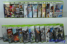 23 Microsoft Xbox 360 Video Games MUST SEE LOT Family guy Sleeping Dogs Gears of