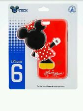 Disney Parks D-Tech Minnie Mouse Body Red Extended Clip Case Iphone 6 NEW