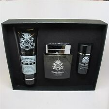 Signature for Men by English Laundry Set: 3.4 oz EDP Spray, Body Wash & Deo NIB