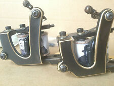 2pcs 2014 New Limited Edition Paul Rogers Pro Brass Tattoo Machine Shader Liner