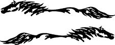 Horse Pony Decal Truck Trailer Car Graphic Set of 2 10x58