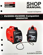 Honda EU2000 EU2000i Generator Service Repair Shop Manual