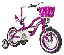 bike*star 30.5cm (12 Zoll) Kinder-Fahrrad Cruiser - Lila