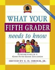 What Your Fifth Grader Needs to Know, Revised Edition: Fundamentals of a Good Fi
